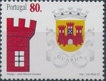 Portugal 1997 Arms of the Districts of Portugal c.jpg