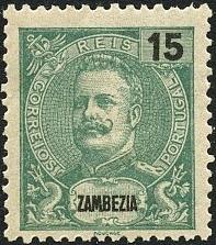 Zambezia 1903 D. Carlos I