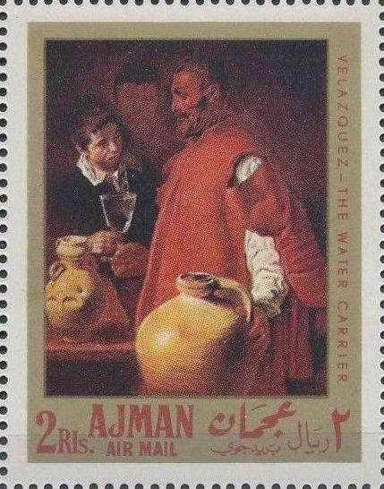 Ajman 1968 Paintings by Diego Rodriguez de Silva y Velazquez bb.jpg