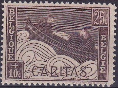 Belgium 1927 Anti Tuberculosis - Boat Adrift