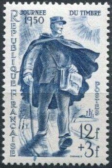 France 1950 Stamp Day