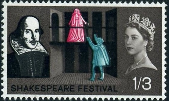 Great Britain 1964 400th Anniversary of the Birth of William Shakespeare c.jpg