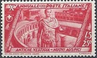 Italy 1932 10th Anniversary of the Fascist Government and the March on Rome o.jpg