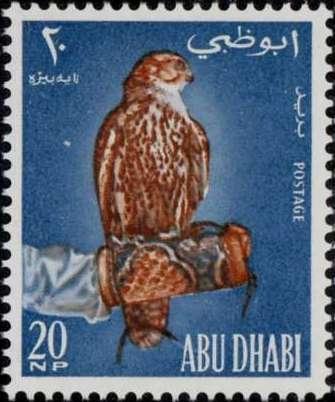 Abu Dhabi 1965 Falconry