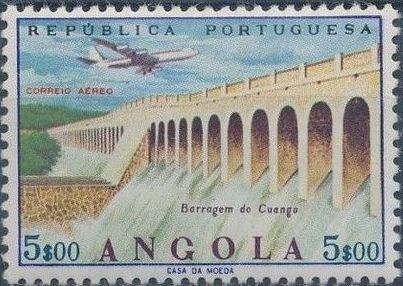 Angola 1965 Various Works and Airplane f.jpg