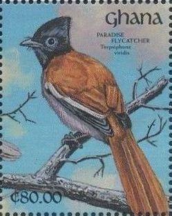 Ghana 1991 The Birds of Ghana c.jpg