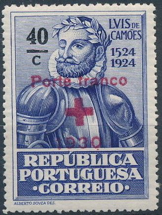 Portugal 1930 Red Cross - 400th Birth Anniversary of Camões a.jpg