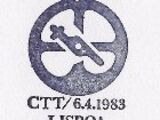 Postmarks Portugal 1983