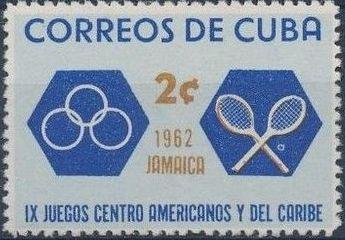 Cuba 1962 9th Central American and Caribbean Games b.jpg