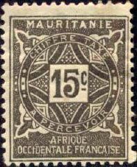 Mauritania 1914 Postage Due Stamps c.jpg