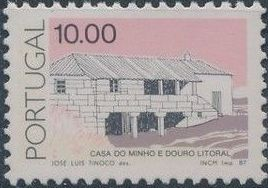 Portugal 1987 Portuguese Popular Architecture (3rd Group)