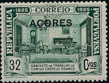 Azores 1925 Birth Centenary of Camilo Castelo Branco i.jpg