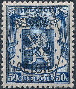 Belgium 1938 Coat of Arms - Precancel (11th Group) f.jpg
