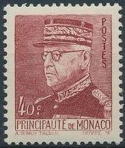 Monaco 1941 Prince Louis II