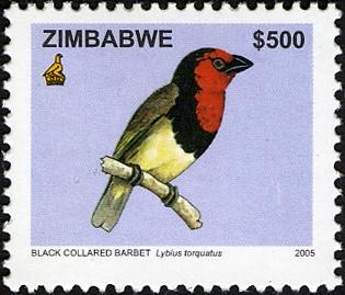 Zimbabwe 2005 Birds from Zimbabwe