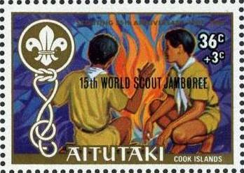 Aitutaki 1983 15th World Scout Jamboree (Semi-Postal Stamps)