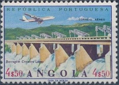 Angola 1965 Various Works and Airplane e.jpg