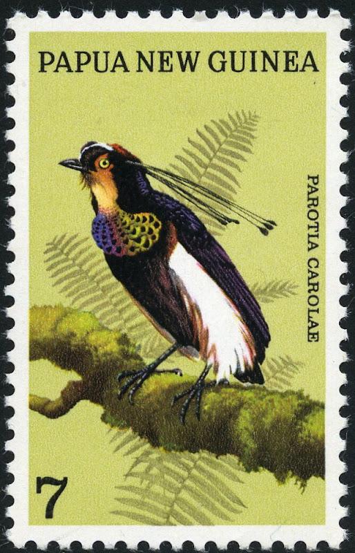 Papua New Guinea 1973 Birds of Paradise