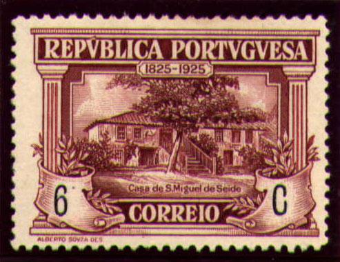 Portugal 1925 Birth Centenary of Camilo Castelo Branco e.jpg