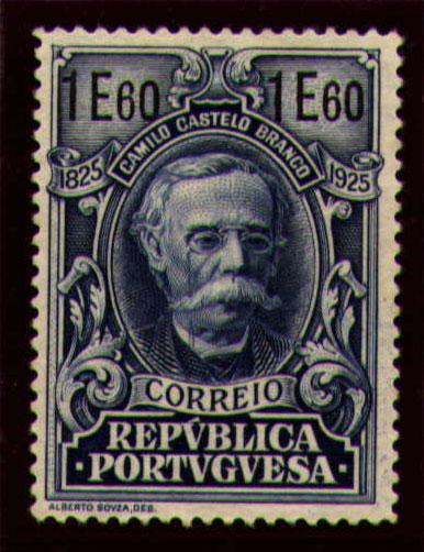 Portugal 1925 Birth Centenary of Camilo Castelo Branco x.jpg
