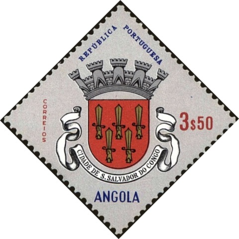 Angola 1963 Coat of Arms - (1st Serie) j.jpg