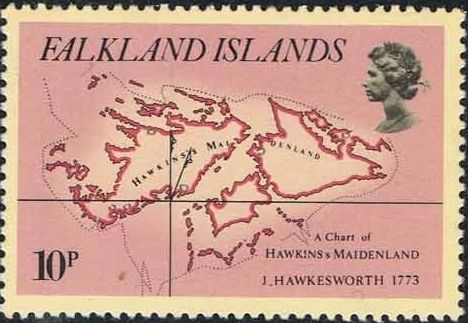 Falkland Islands 1981 18th Century Maps and Charts of the Falkland Islands b.jpg