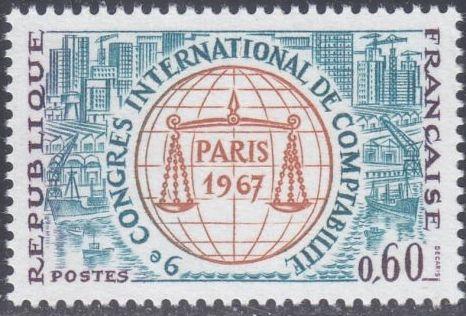 France 1967 9th International Accountancy Congress