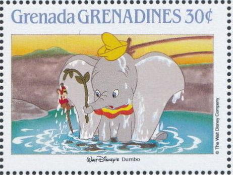 Grenada Grenadines 1988 The Disney Animal Stories in Postage Stamps 4e.jpg