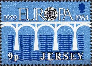 Jersey 1984 EUROPA CEPT