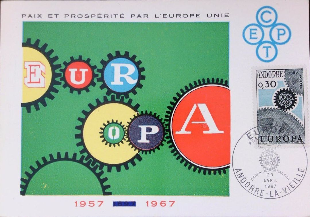 Andorra-French 1967 Europa MCa.jpg