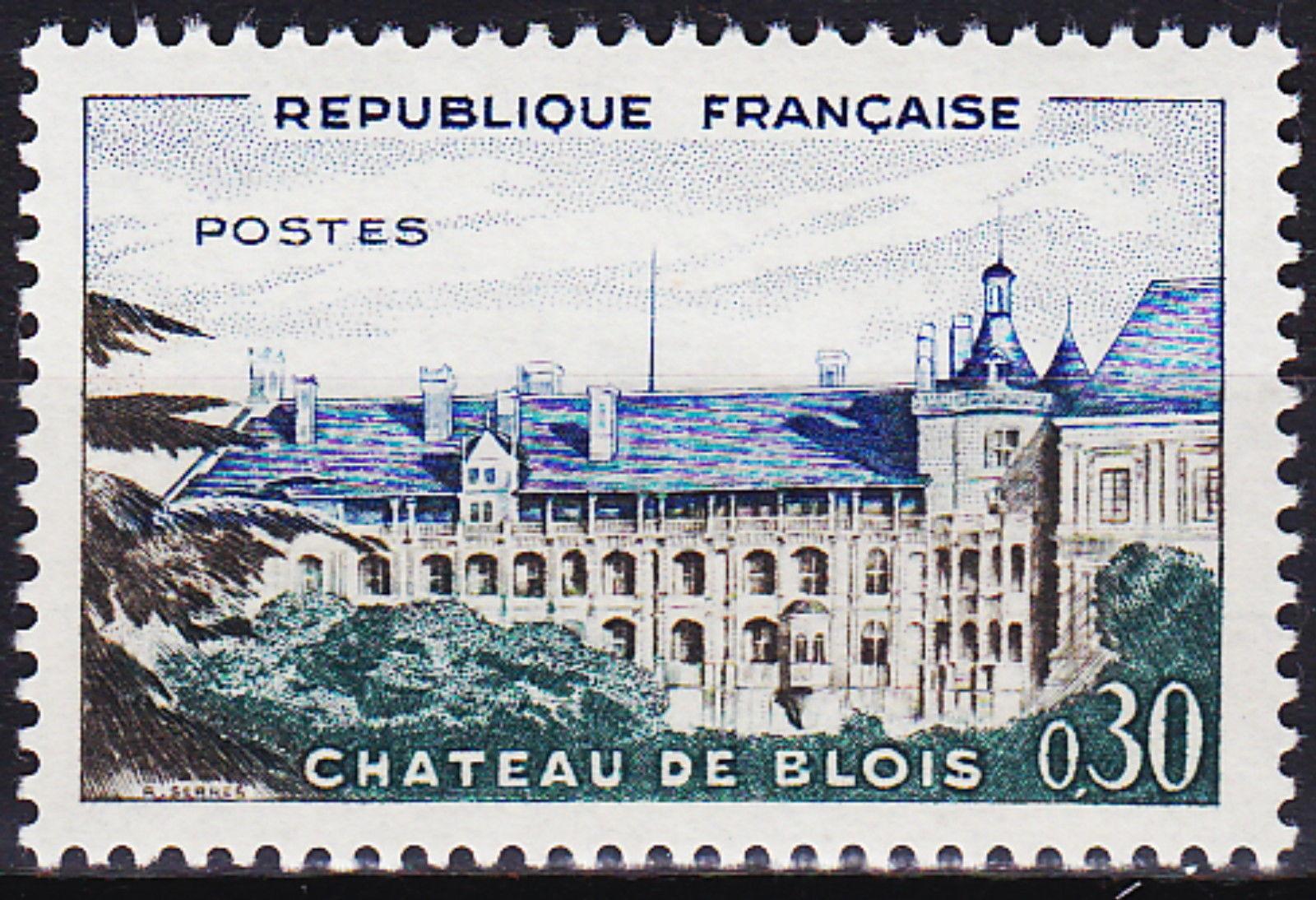France 1960 Chateau de Blois