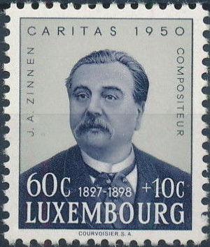 Luxembourg 1950 Jean Antoine Zinnen