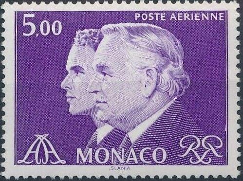Monaco 1982 Prince Rainier and Prince Albert (Air Post Stamps)