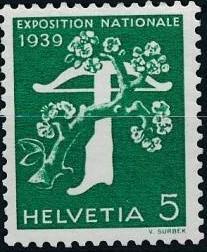 Switzerland 1939 National Exposition of 1939
