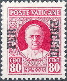 Vatican City 1931 Parcel Post Stamps h.jpg