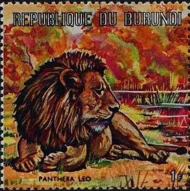 Burundi 1971 Animals