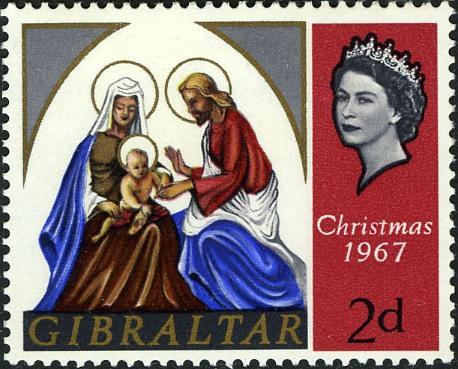 Gibraltar 1967 Christmas