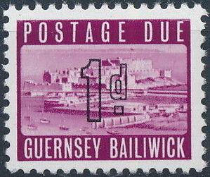 Guernsey 1969 Castle Cornet and St. Peter Port