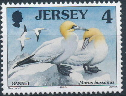 Jersey 1998 Seabirds and waders (3rd Issue)