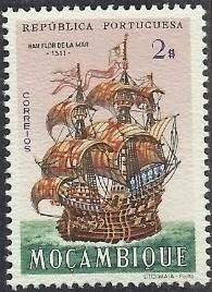 Mozambique 1963 Development of Sailing Ships g.jpg