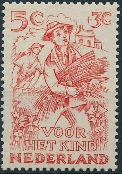 Netherlands 1949 Surtax for Child Welfare b.jpg