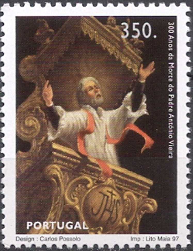 Portugal 1997 300 Years of Death of Father António Vieira a.jpg