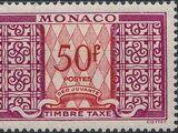 Monaco 1950 Postage Due Stamps