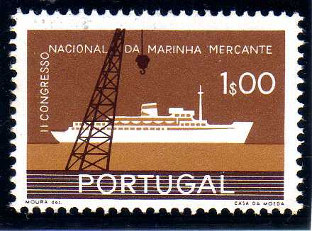 Portugal 1958 2nd National Congress of Merchant Marine