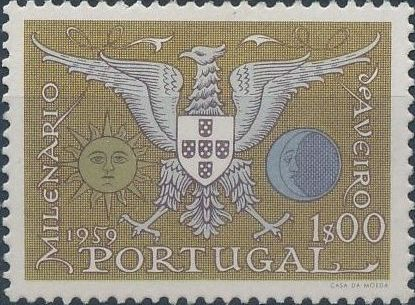 Portugal 1959 Millennium and Bi-Centenary of Aveiro
