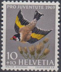 Switzerland 1969 PRO JUVENTUTE - Birds a.jpg