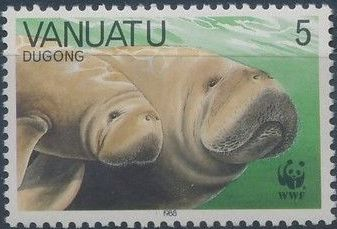Vanuatu 1988 WWF Dugong
