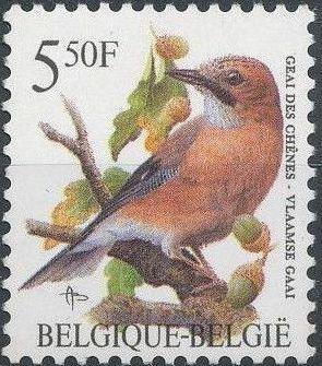 Belgium 1993 Birds