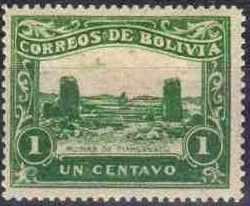 Bolivia 1914 Guaqui-La Paz Railway