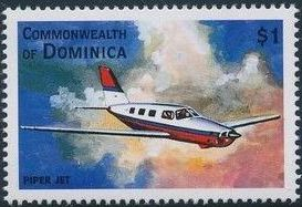Dominica 1998 Modern Aircrafts r.jpg
